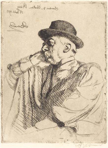 Edmond Pigalle, 1908 - Paul-Albert Besnard
