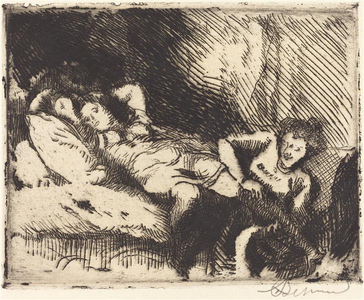 Going to Bed, 1913 - Paul-Albert Besnard