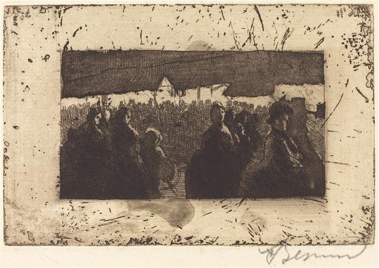 Neuilly Fair, 1885 - Paul-Albert Besnard
