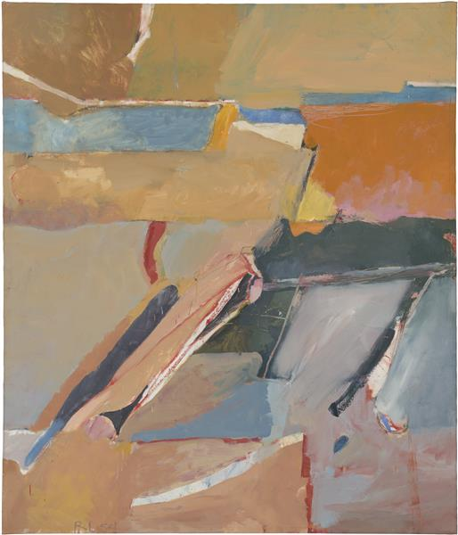 Berkeley #8, 1954 - Richard Diebenkorn