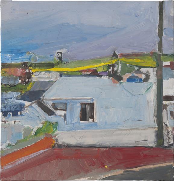 Chabot Valley, 1955 - Richard Diebenkorn