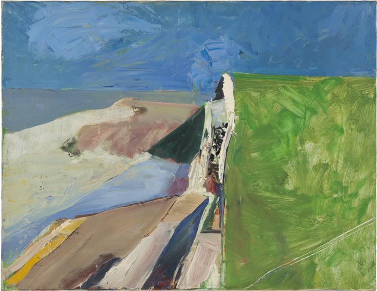 Seawall, 1957 - Richard Diebenkorn