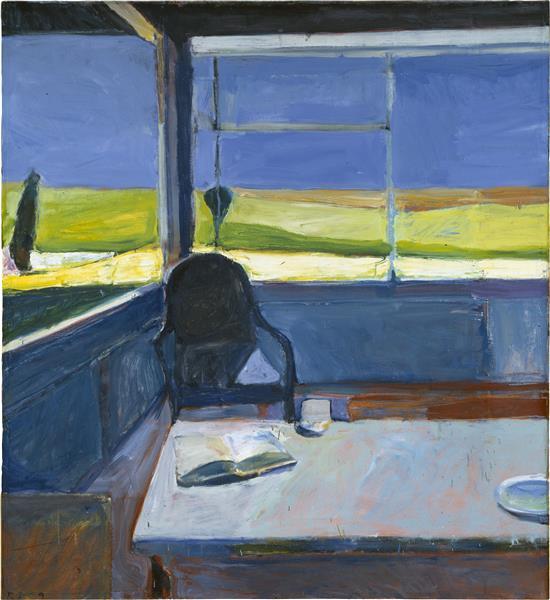 Interior with Book, 1959 - Richard Diebenkorn