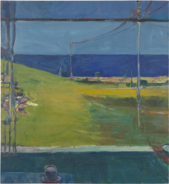 Ocean from a Window, 1959 - Richard Diebenkorn