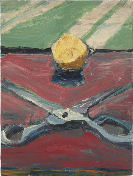 Scissors and Lemon, II, 1959 - Richard Diebenkorn