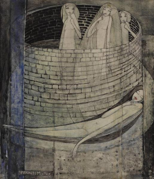 Truth Lies at the Bottom of the Well, c.1912 - c.1915 - Frances Macdonald MacNair