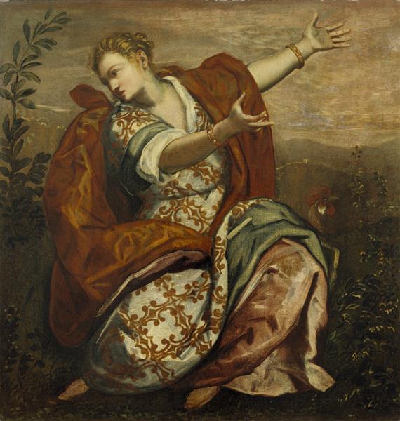 Allegory of Vigilance, c.1590 - Domenico Tintoretto