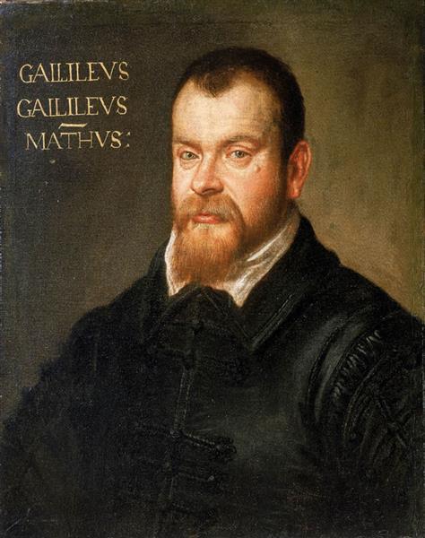 Galileo Galilei 2, c.1605 - Domenico Tintoretto