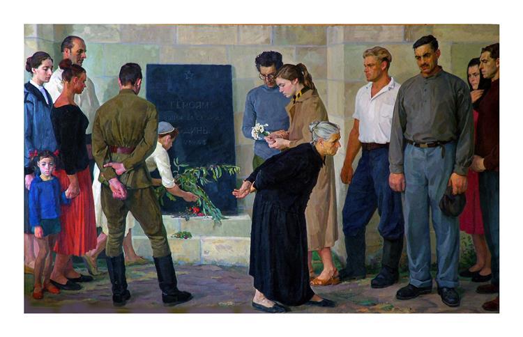 In the Memory for Fallen, 1959 - Dmitri Zhilinsky