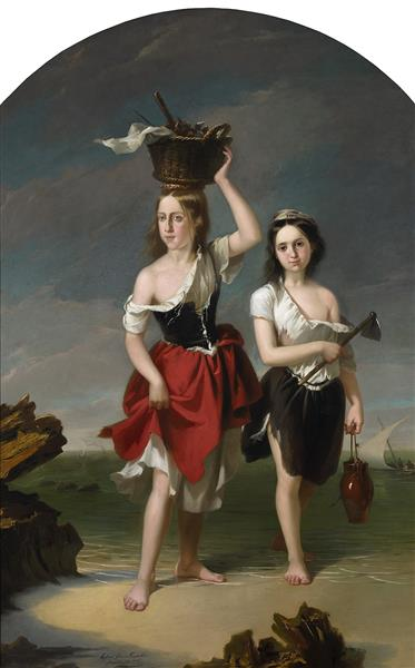 The seekers of coquinas - Rafael García Hispaleto (El Hispaleto)