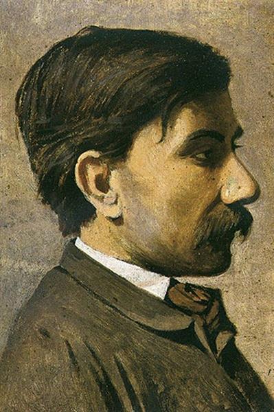 Autoritratto - Giuseppe Abbati