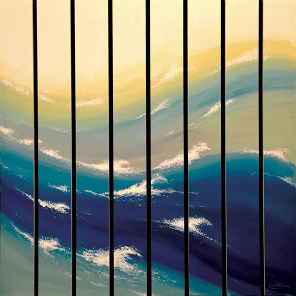 Waves, 1982 - Rashid Al Khalifa