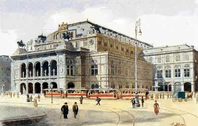 Opéra De Vienne - Adolf Hitler