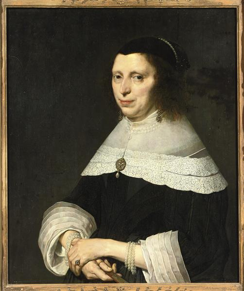 Portrait of a Woman, c.1650 - David Bailly