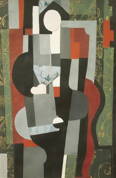 Black Pierrot, 1923 - Jindrich Styrsky