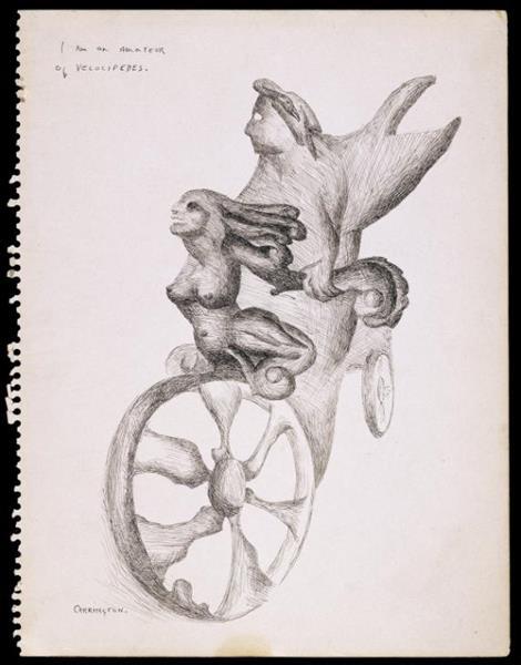 I am an Amateur of Velocipedes, 1941 - Leonora Carrington