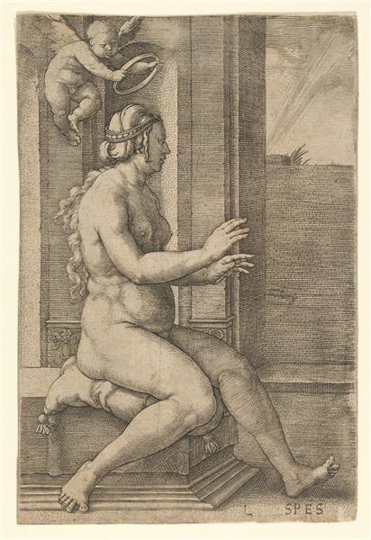 Hope, c.1530 - Lucas van Leyden
