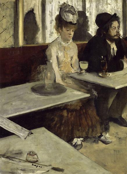 The Absinthe Drinker, 1876 - Edgar Degas