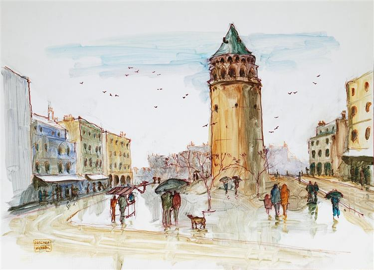 Tower 5, 2014 - Husnu Konuk