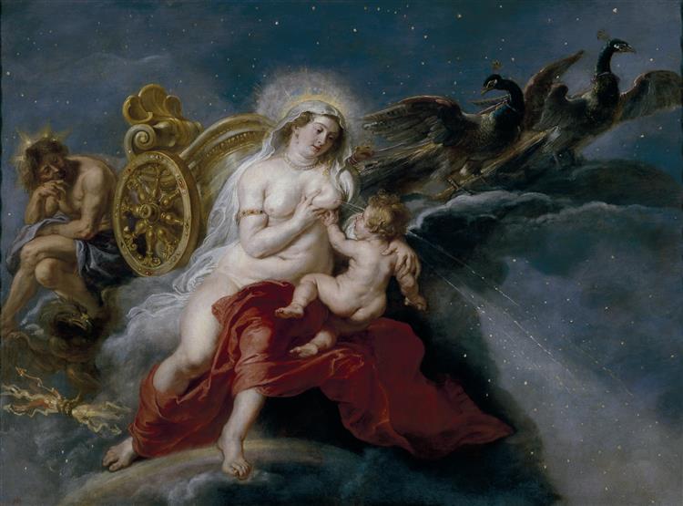 The Origin of the Milky Way, 1636 - 1637 - Peter Paul Rubens