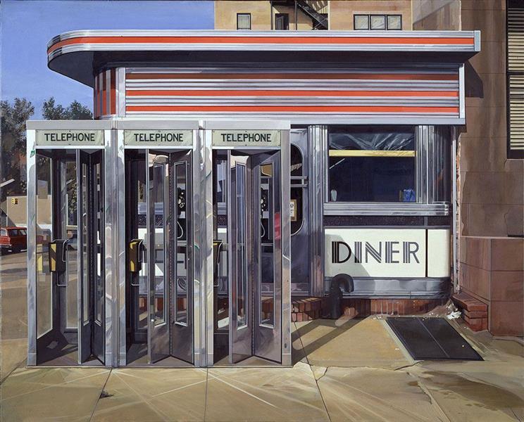 Diner, 1971 - Richard Estes