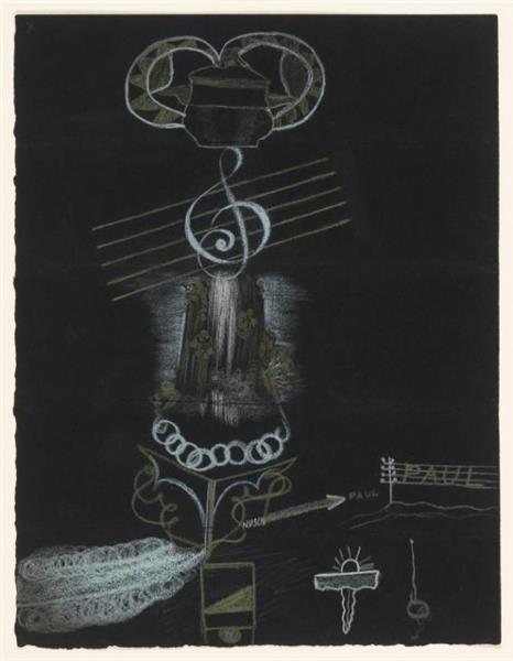 Exquisite Corpse, 1930 - Valentine Hugo
