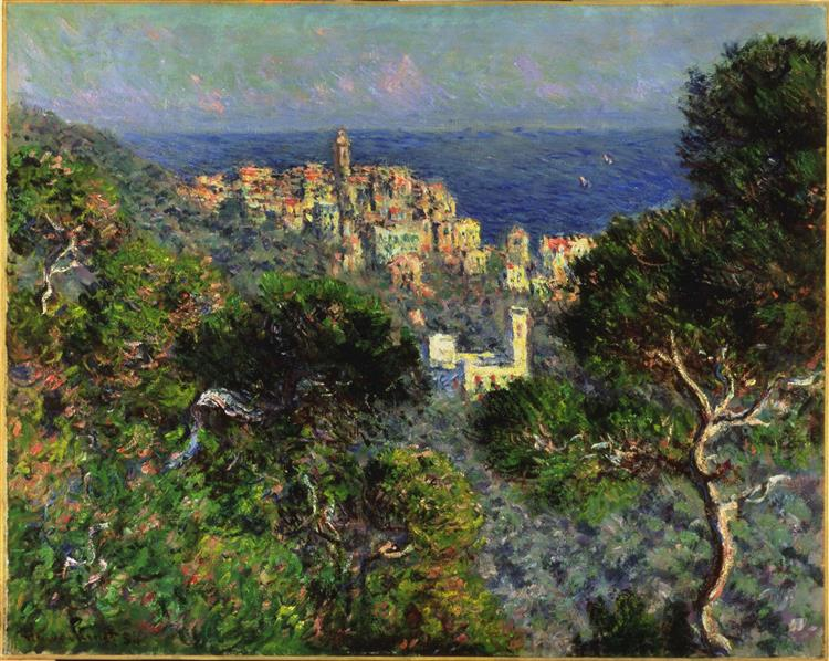 View Of Bordighera, 1884 - Claude Monet