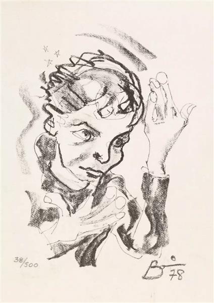 Self Portrait, 1978 - David Bowie