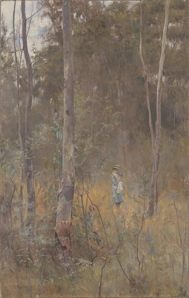 Lost, 1886 - Frederick McCubbin