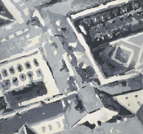 Townscape M1, 1968 - Gerhard Richter