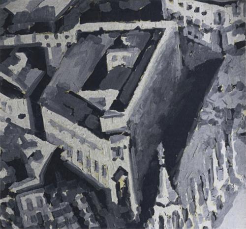 Townscape M2, 1968 - Gerhard Richter