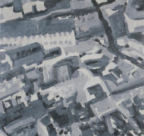 Townscape M3, 1968 - Gerhard Richter