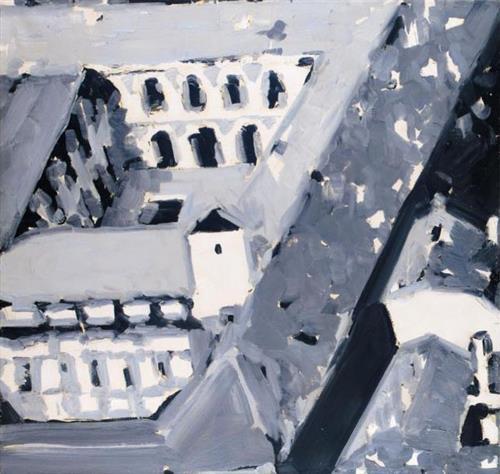 Townscape M5, 1968 - Gerhard Richter