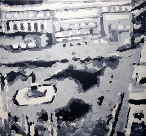 Townscape M6, 1968 - Gerhard Richter