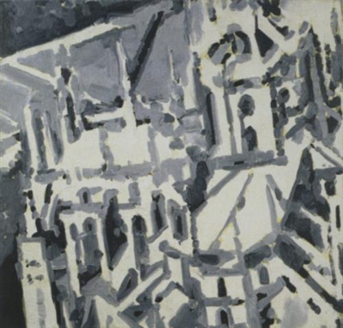 Townscape M9, 1968 - Gerhard Richter