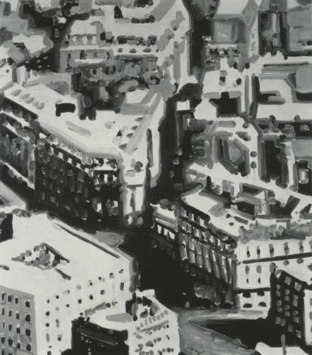 Townscape P1, 1968 - Gerhard Richter