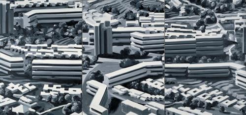 Townscape TR, 1969 - Gerhard Richter