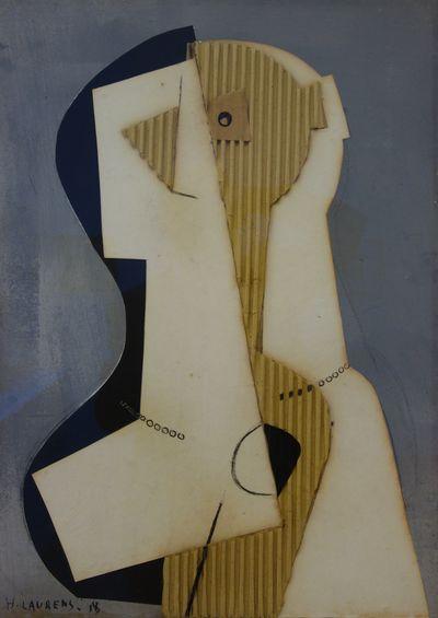 Tête de femme, 1918 - Henri Laurens