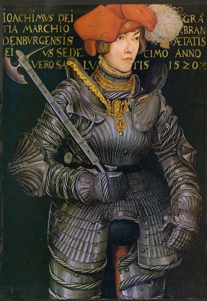 Prince Elector Joachim II of Brandenburg, c.1520 - Lucas Cranach the Elder