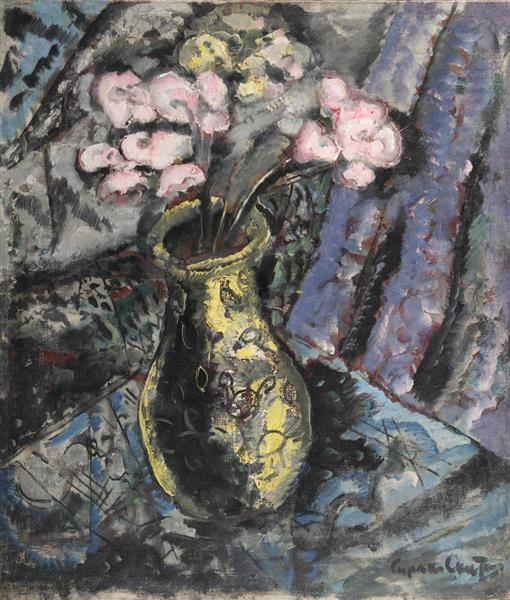 Vase with flowers, 1935 - Sirak Skitnik