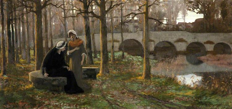 Autumnal Sorrows, 1878 - Frank O'Meara
