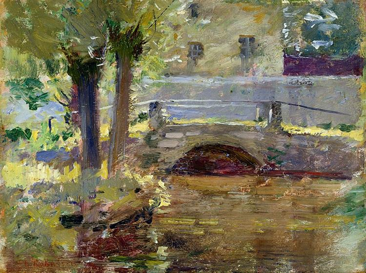 The Bridge at Giverny, 1891 - Theodore Robinson
