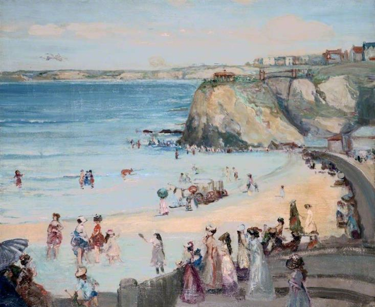Newquay, 1906 - Charles Conder