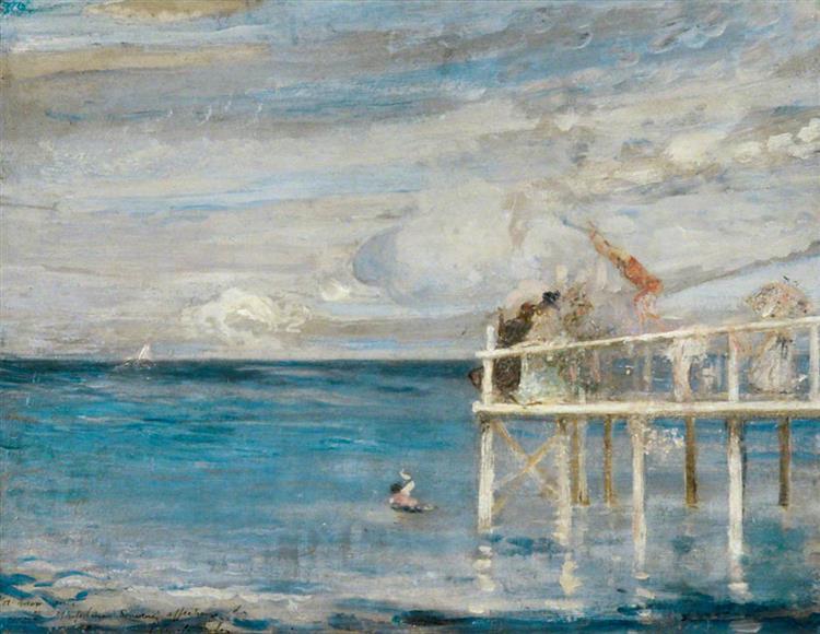 Swanage, c.1901 - Charles Conder