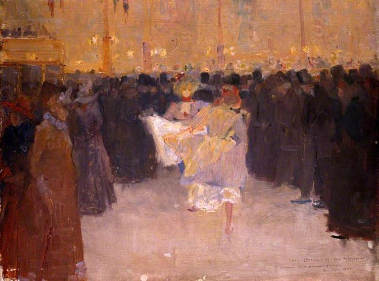 The Moulin Rouge, 1890 - Charles Conder