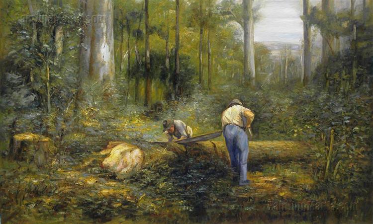 Bush Sawyers, 1910 - Frederick McCubbin