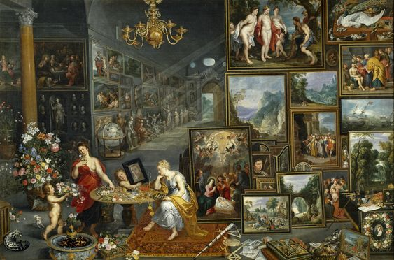 Allegory of Sight and Smell, 1620 - Jan Brueghel the Elder