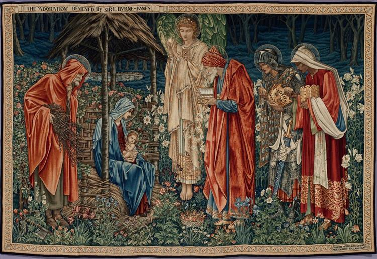The Adoration of the Magi, 1890 - William Morris