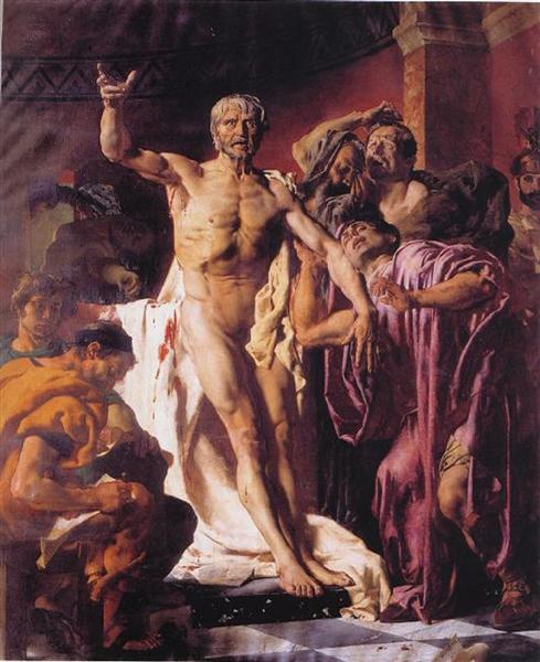 The Death of Seneca, 1875 - Joseph-Noël Sylvestre