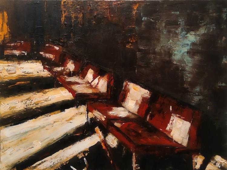 Waiting room V, 2019 - Jarik Jongman